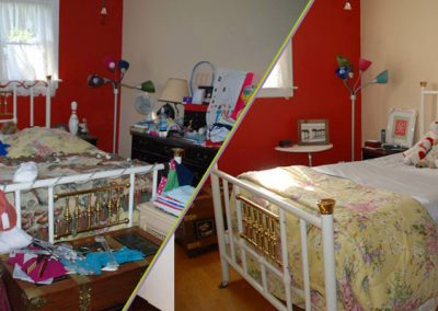 before and after room